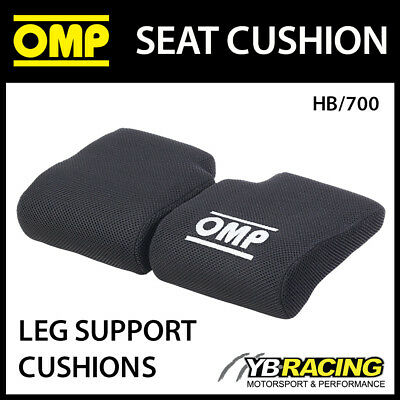 Hb/700 Omp Racing 2-Piece Flat Leg Support Cushion For Race & Rally Bucket Seats