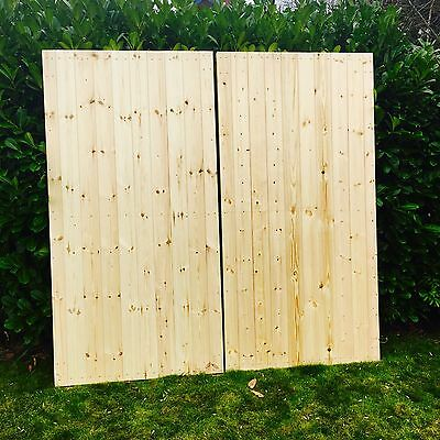 High quality wooden garage doors any size made to measure Barn Door Style 7x7ft