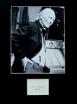 WILLIAM HARTNELL signed autograph PHOTO DISPLAY Doctor Who Dr Who