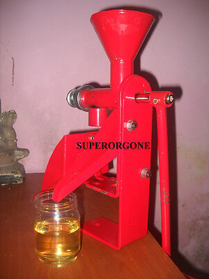 Iso Quality Heavy Duty Hand Operated Oil Expeller Screw Cold Press Machine