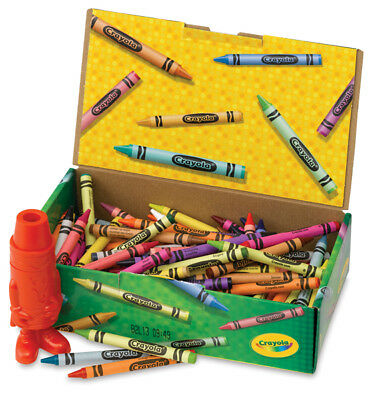 Crayola CRAYONS 24 count, Color Max, Glitter, Dry Erase, Window, Storage Tins ++