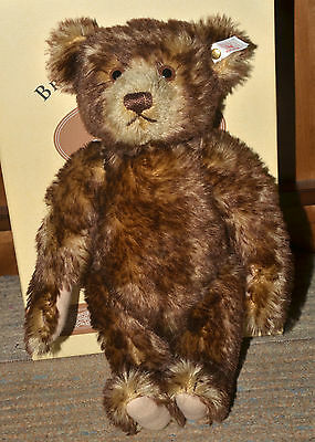 STEIFF Limited Edition 1995 BRITISH COLLECTORS BEAR, 654404 -NEW in BOX,Pristine
