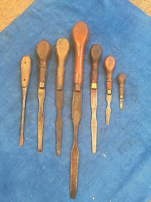 Vintage Wood Screwdrivers