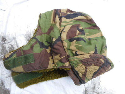 RARE GENUINE issue FALKLANDS WAR early DPM sas windproof patrol CAP HAT SMALL S