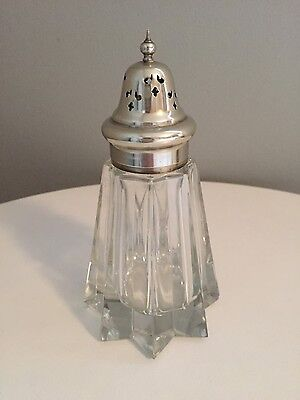 Art Deco Vintage Silver Plated Sugar Shaker in Lovely Condition