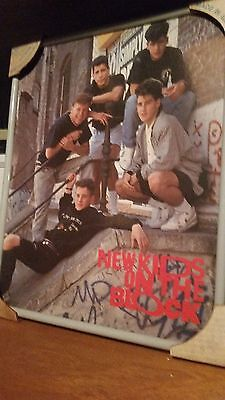 New Kids On The Block Poster Mint