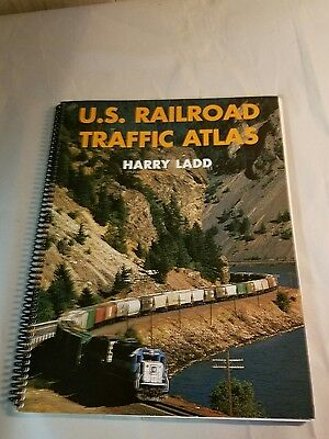 U.s Railroad Traffic Atlas Harry Ladd 1996 Book