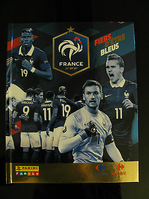 Album Collector FFF FRANCE - FIERS D'ETRE BLEUS - PANINI / CARREFOUR - EURO 2016