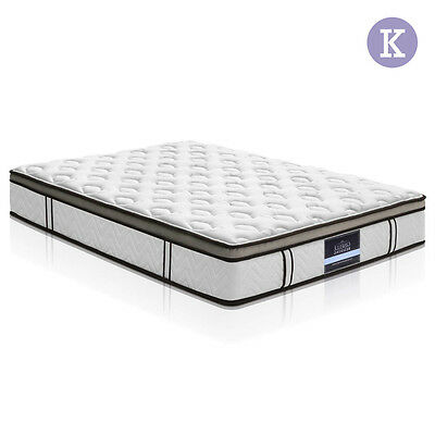 Latex Euro Top Pocket Spring Mattress Back Support King