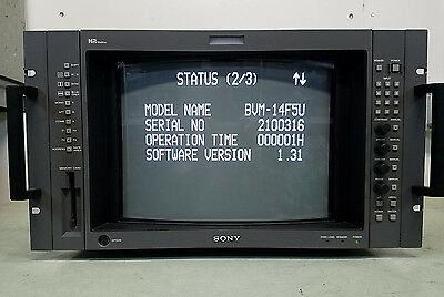 Sony BVM-14F5U color video monitor