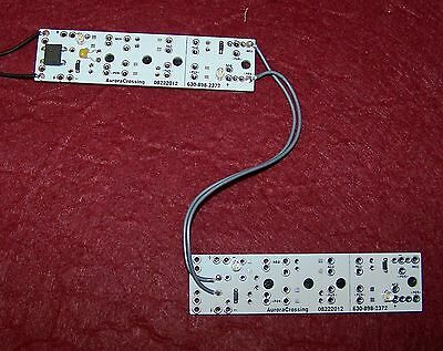 G LED  2-TWIN BOARDS SOFT-WARM WHITE (NEW 20% BRIGHTER) 2+2=4 LED's SELF STICK