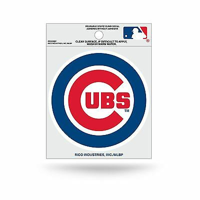 Chicago Cubs Logo Static Cling Auto Decal Car Sticker Small SS