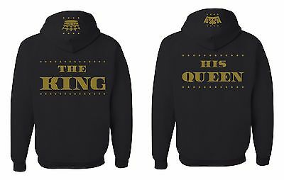 The King And His Queen Sweatshirt Couple Matching Hoodie Valentine S Day Jacket