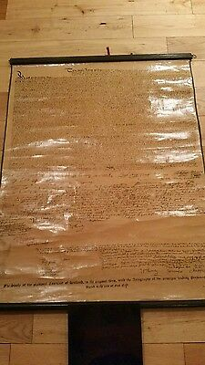 Late Victorian Facsimile  National Covenant Of Scotland 1638 Stunning