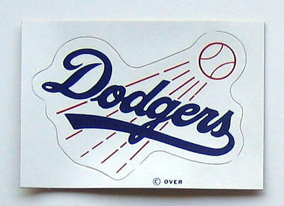 Vintage 1971 Los Angeles Dodgers MLB Baseball Decal Sticker from Meyercord