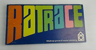 Ratrace Rare Vintage Board Game in Good Condition, 1967