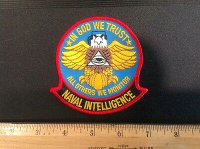United States Naval Intelligence Patch