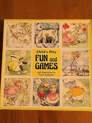 Vintage Child's Fun and Games 3 Pack