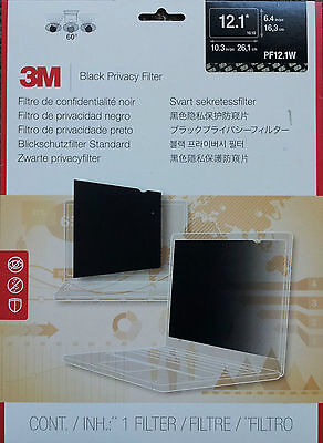 3M PF12.1W Privacy Filter for Widescreen Laptop 12.1""
