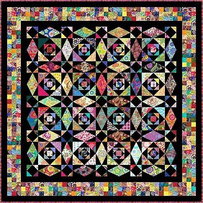 "INTRINSIC - 88"" - Pre-cut Quilt Kit by Quilt-Addicts Queen size"