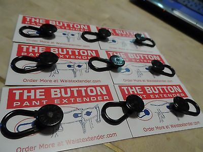 6 Waist Extenders 3 The Button And 3 Wonder Button Fast Shipping