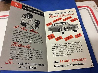 1955 Chevrolet Salesmans Guide  Sell The Family.
