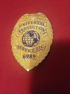 5 Security Badges  Universal Protection Special Officer Lot Of 5