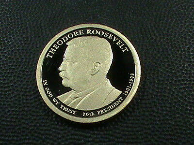 UNITED  STATES   1 Dollar   2014  -  S   FROSTED CAMEO PROOF  ,   ROOSEVELT