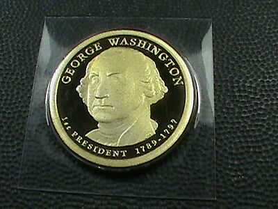 UNITED  STATES   1 Dollar   2007  -  S   FROSTED CAMEO PROOF  ,   WASHINGTON