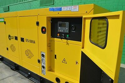 Brand New 100KVA Diesel Generator Agrison, 2017,5 Years Warranty, Aus Wide Deliv