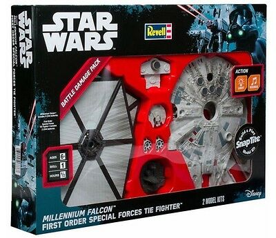 Star Wars Battle Damage Pack by Revell Free Postage Superfast Delivery!!
