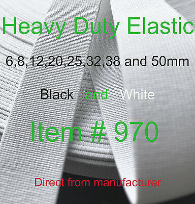 Strong Heavy Duty Elastic Item 970 6Mm;8;12;20;25;32;38 & 50 Direct Manufacturer