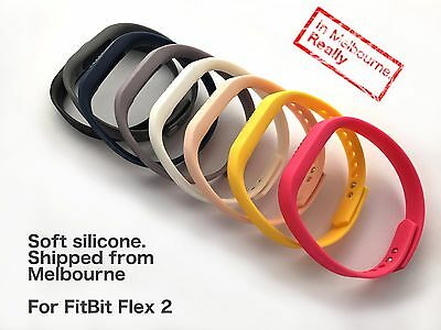 Soft Silicone replacement band for FitBit Flex 2 - sports band bracelet