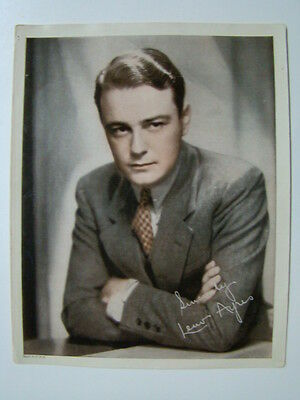 Lew Ayres American Movie & TV Actor 8 x 10 Printed Photograph 1930's