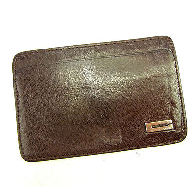 Auth Gucci Card Case G Marco Mens Used J10221