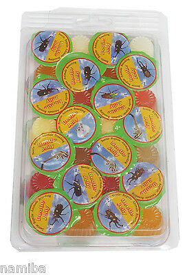 30 Stück Beetle Jelly Reptilien Jelly Food Fruitjelly, Versch. Sorten