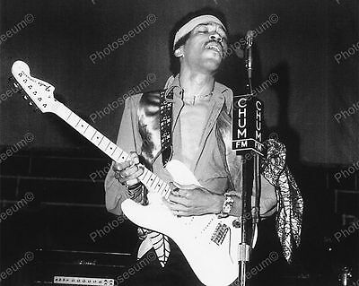 Jimi Hendrix In Concert Toronto May 1969 Vintage 8x10 Reprint Of Old Photo