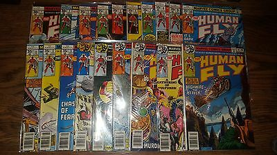 The Human Fly #1-19 Complete Series Lot of Marvel Comics