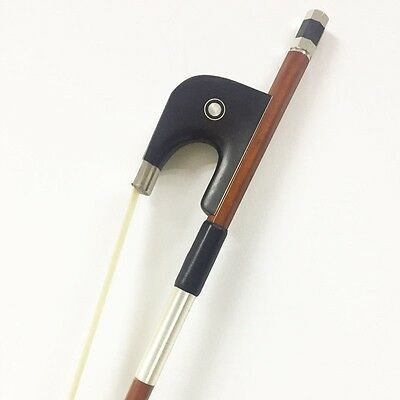 1/8 Double Bass Bow German Style Ebony Frog 1/8 Bouble Bass Bow