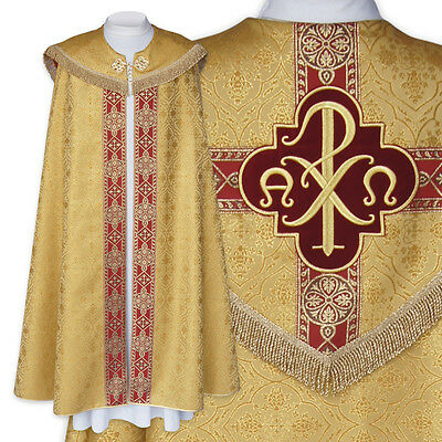 COPE Gold Gothic style cope, vestment AU