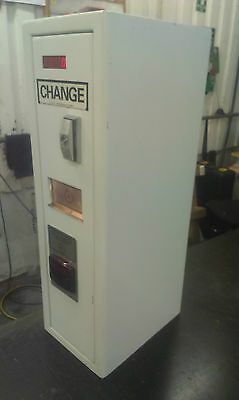 Change Machine Put Notes In For £1 Coins Out Universal Hopper Wall Mounted