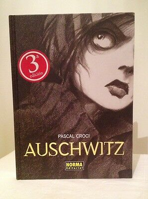 RARE Auschwitz by PASCAL CROCI Norma Editorial (Spanish) *Ex Con* graphic novel