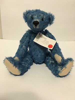 "Approx 14"" Mohair Bear Signed By Kimberly Ruff 1995"