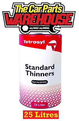 ⭐ Tetrosyl 25 LITRES Standard Thinners Gun Wash Spray Cleaner Paint Thinner ⭐️