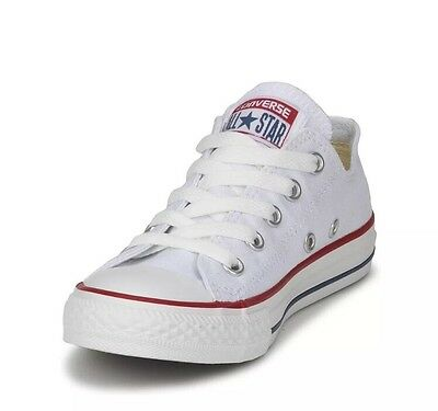 Converse All Star Shoes N 38 Basse Scarp Uomo Donna Tela Unisex New 2016 White