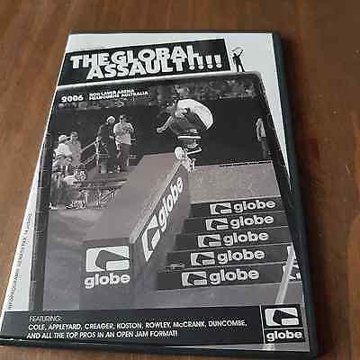 The Global Assault!!!! 2006 Melbourne Australia Skateboarding Dvd.