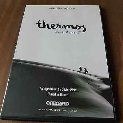 THERMOS Share the heat ONBOARD  SNOWBOARDING DVD Filmed in 16mm 2006