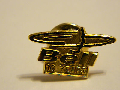 Bell Telephone 10 Years Gold-Plated Pin w/Box--Employee Exclusive