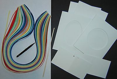 Quilling Paper Strips 3 mm wide, Tools,cards,envelopes,tags