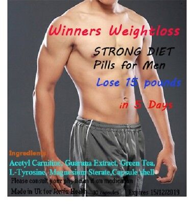 Super Strong Diet Pills Extreme Weight Loss Fat Burners For Men Male Result